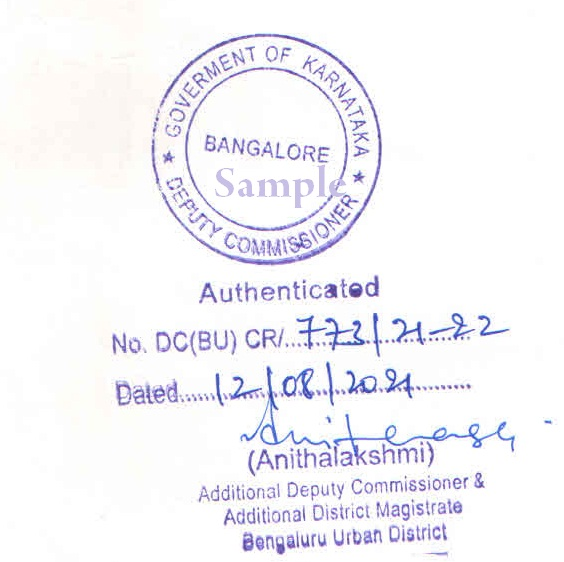 Karnataka Hrd Attestation